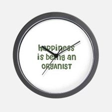 Happiness is being an ORGANIS Wall Clock