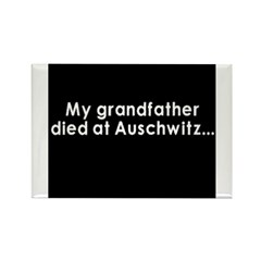 Auschwitz Rectangle Magnet (100 pack)