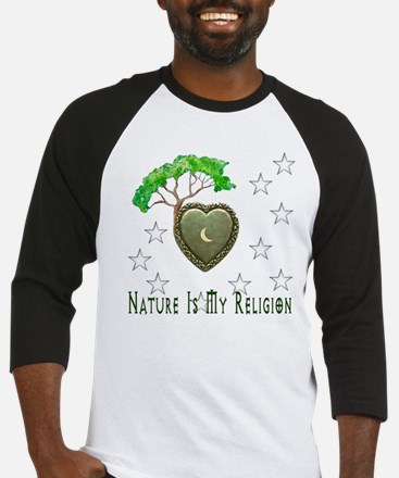 Nature Is My Religion Baseball Jersey