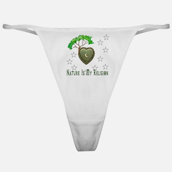 Nature Is My Religion Classic Thong
