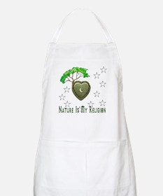 Nature Is My Religion Apron
