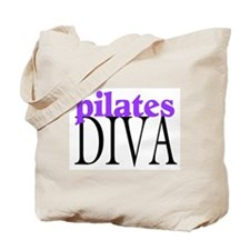 Pilates Diva Tote Bag