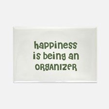 Happiness is being an ORGANIZ Rectangle Magnet
