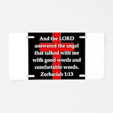 Zechariah 1-13 Aluminum License Plate