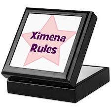 Ximena Rules Keepsake Box