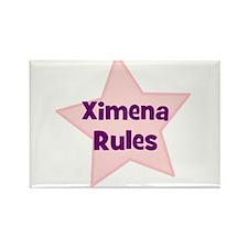 Ximena Rules Rectangle Magnet