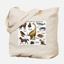 Maryland State Animals Tote Bag