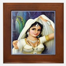 Queen Padmini Framed Tile