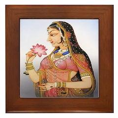 Shringar (Beauty) Framed Tile