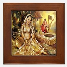 Village Beauty Framed Tile