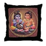 Krishna 4 Throw Pillow