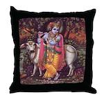 Krishna 3 Throw Pillow