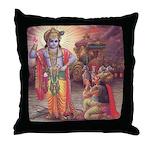 Krishna Throw Pillow