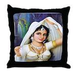 Queen Padmini Throw Pillow