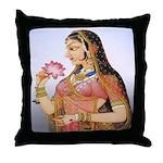 Shringar (Beauty) Throw Pillow