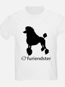 Poodle Standard Kids T-Shirt