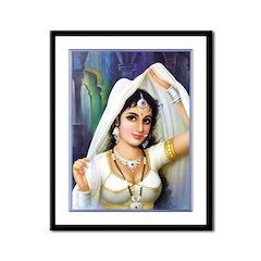 Queen Padmini Framed Print