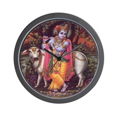 Krishna 3 Wall Clock