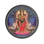 Goddess of Wealth Wall Clock
