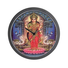 Goddess of Wealth Wall Clock