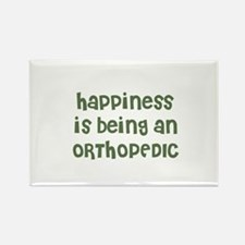 Happiness is being an ORTHOPE Rectangle Magnet