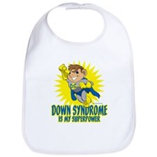 Down Syndrome Is My Superpower Bib