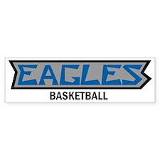 Wordmar Bumper Sticker- Eagles B-Ball