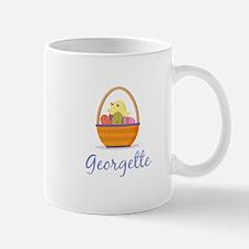 Easter Basket Georgette Mug