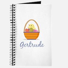 Easter Basket Gertrude Journal