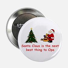 Santa vs Opa Button