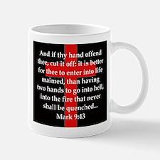 Mark 9-43 Mug