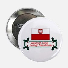 "Wesolych Swiat 2.25"" Button (10 pack)"