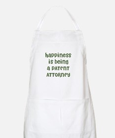 Happiness is being a PATENT A BBQ Apron