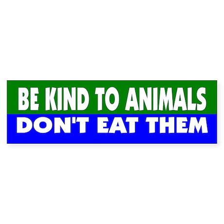 BE KIND... Bumper Sticker