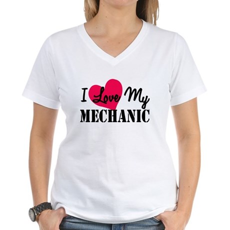 I Love My Mechanic T-Shirt
