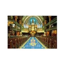 Aisle, Altar, Pulpit, Basilica, N Rectangle Magnet