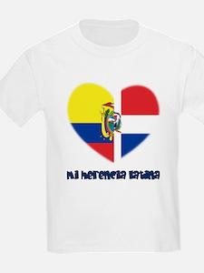 Ecuador-Dominican Republic T-Shirt