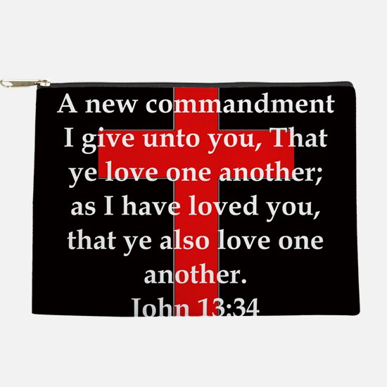 John 13-34 Makeup Pouch