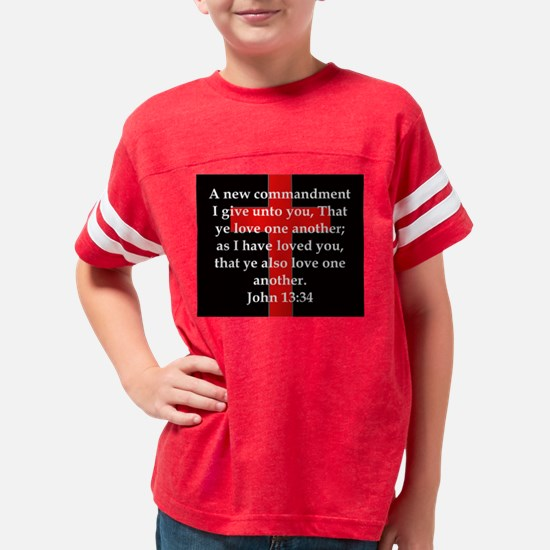 John 13-34 Youth Football Shirt