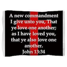 John 13-34 Pillow Sham