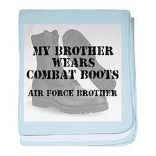 AF Brother Wears CB baby blanket