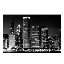 Chicago Famous Cityscape Postcards (Package of 8)