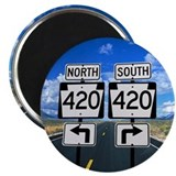 Denver colorado 420 marijuana weed cannabis tours Magnets
