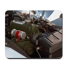 Engine of 1960 Austin Healey Bugeye Sprit Mousepad