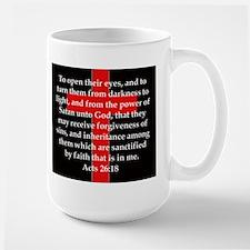 Acts 26-18 Mug
