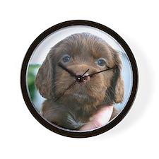 Puppy Dog Wall Clock