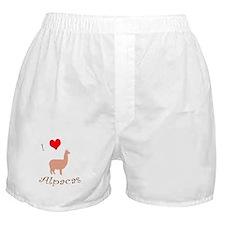 Cute Alpaca lover Boxer Shorts