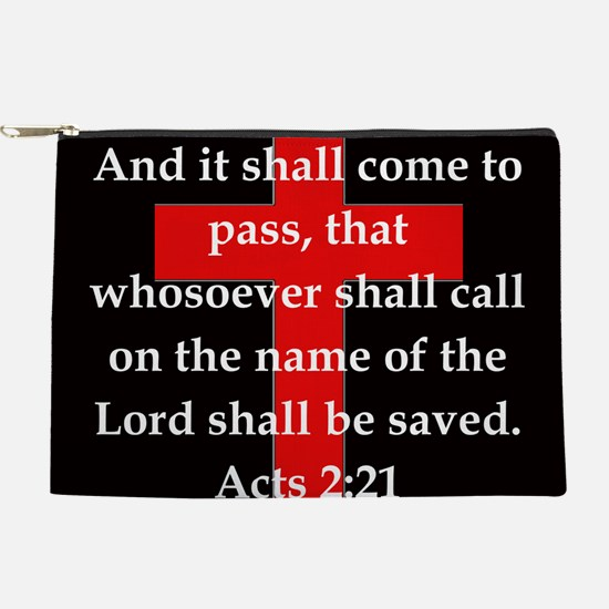 Acts 2-21 Makeup Pouch