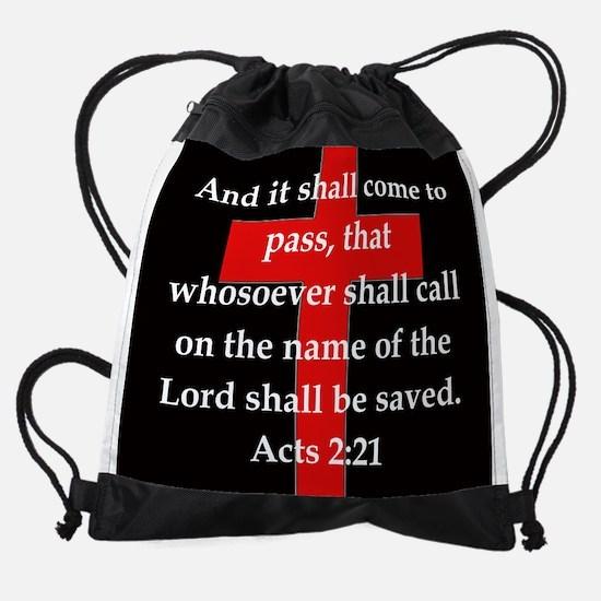 Acts 2-21 Drawstring Bag
