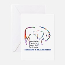 Farriers & B'smiths Greeting Cards (Pack